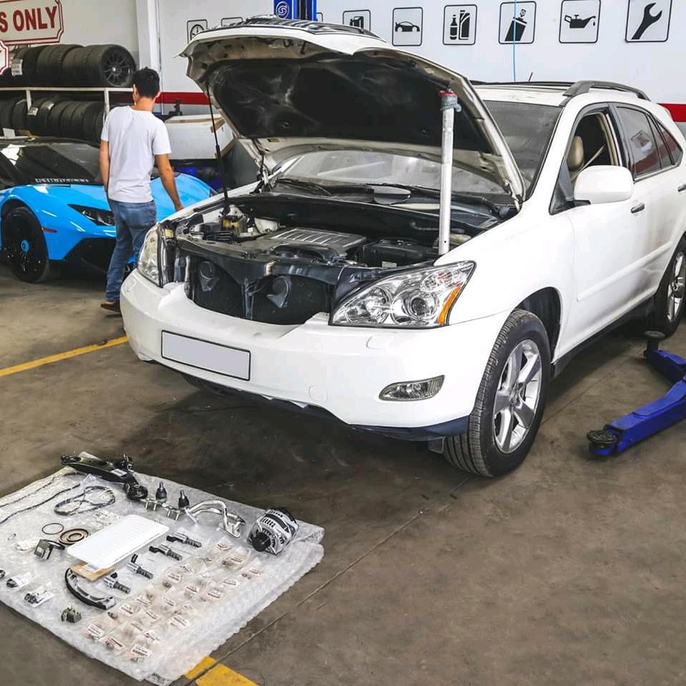 Lexus RX350 Service