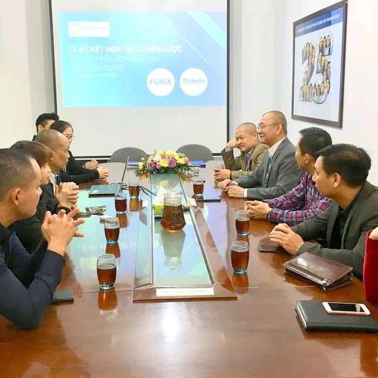 Tinhvan Group và FUNiX mở rộng hợp tác chiến lược
