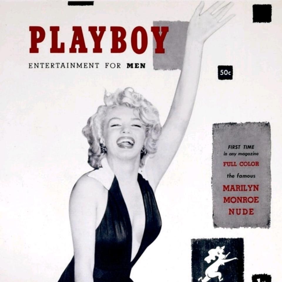 Bạn có biết, hình của Marilyn Monroe được chọn để đăng trên ảnh bìa số đầu tiên của tạp chí Playboy.