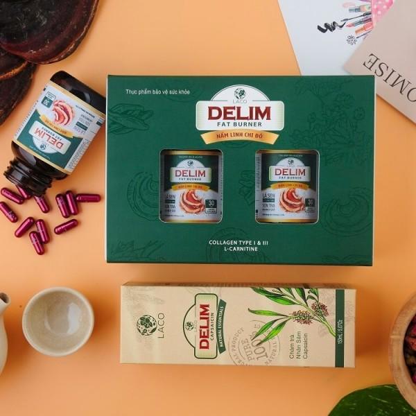 Kết hợp sản phẩm giảm beo Delim với chế độ ăn kiêng khoa học