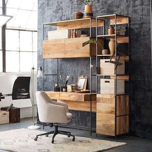 Sự kết hợp hoàn hảo giữa        ⚤gỗ và kim loại ⚤ trong thiết kế nội thất ☛☛☛