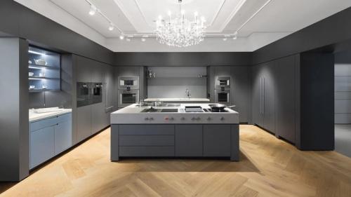 Nhà bếp đầy đủ - sang trọng với các sản phẩm thương hiệu Đức