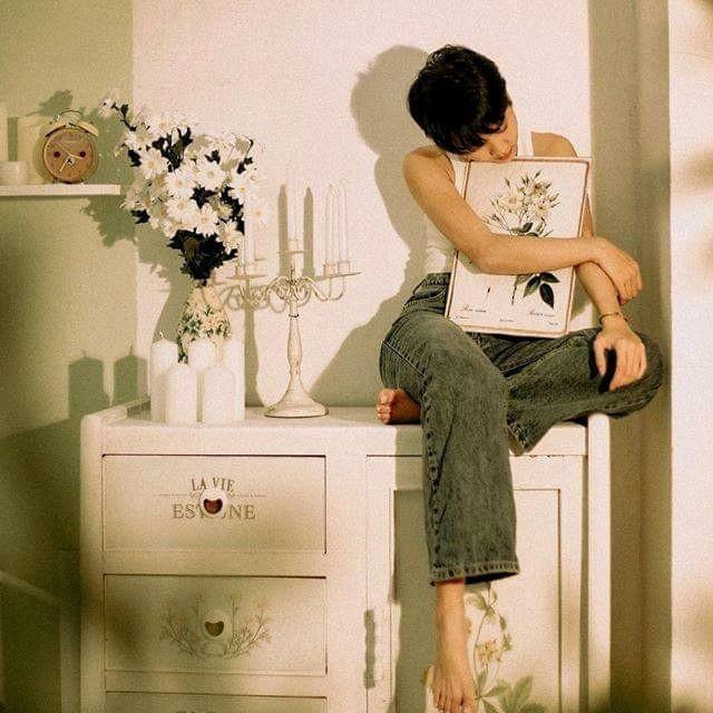 🌿 Căn phòng xanh mint của Chang