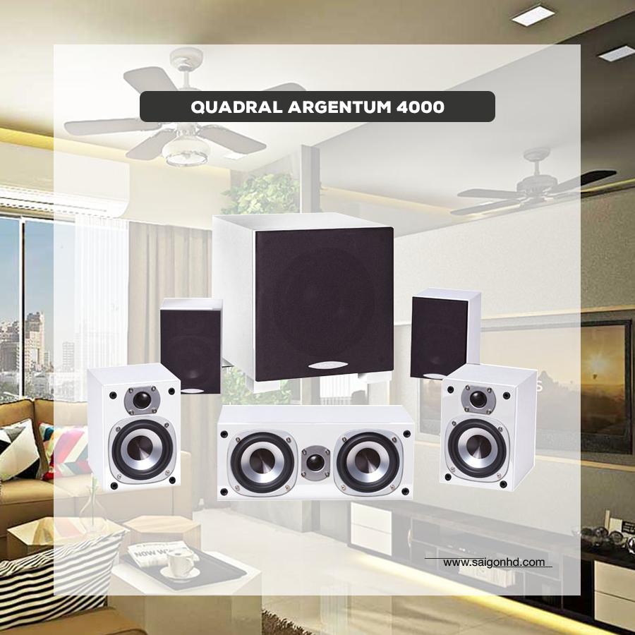 Denon AVR –X1500H & Quadral Argentum 4000: Dàn âm thanh xem phim 5.1 giá rẻ, chất lượng cao