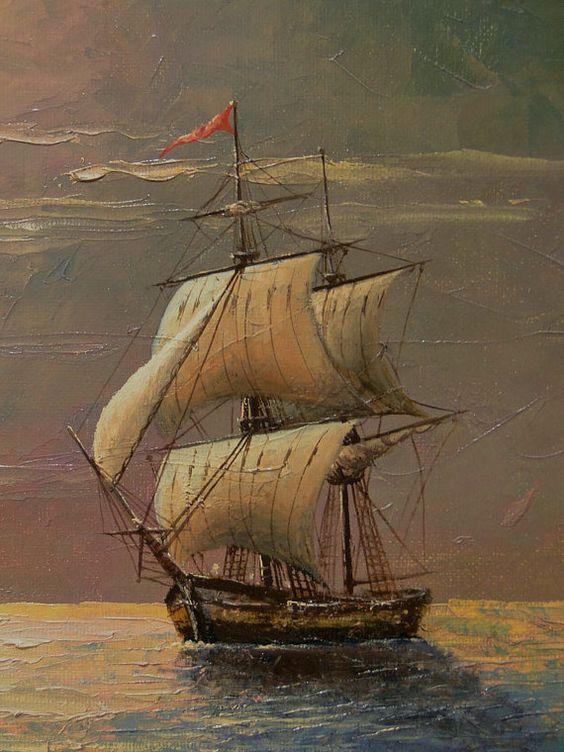Hình ảnh thuyền buồm xuôi gió