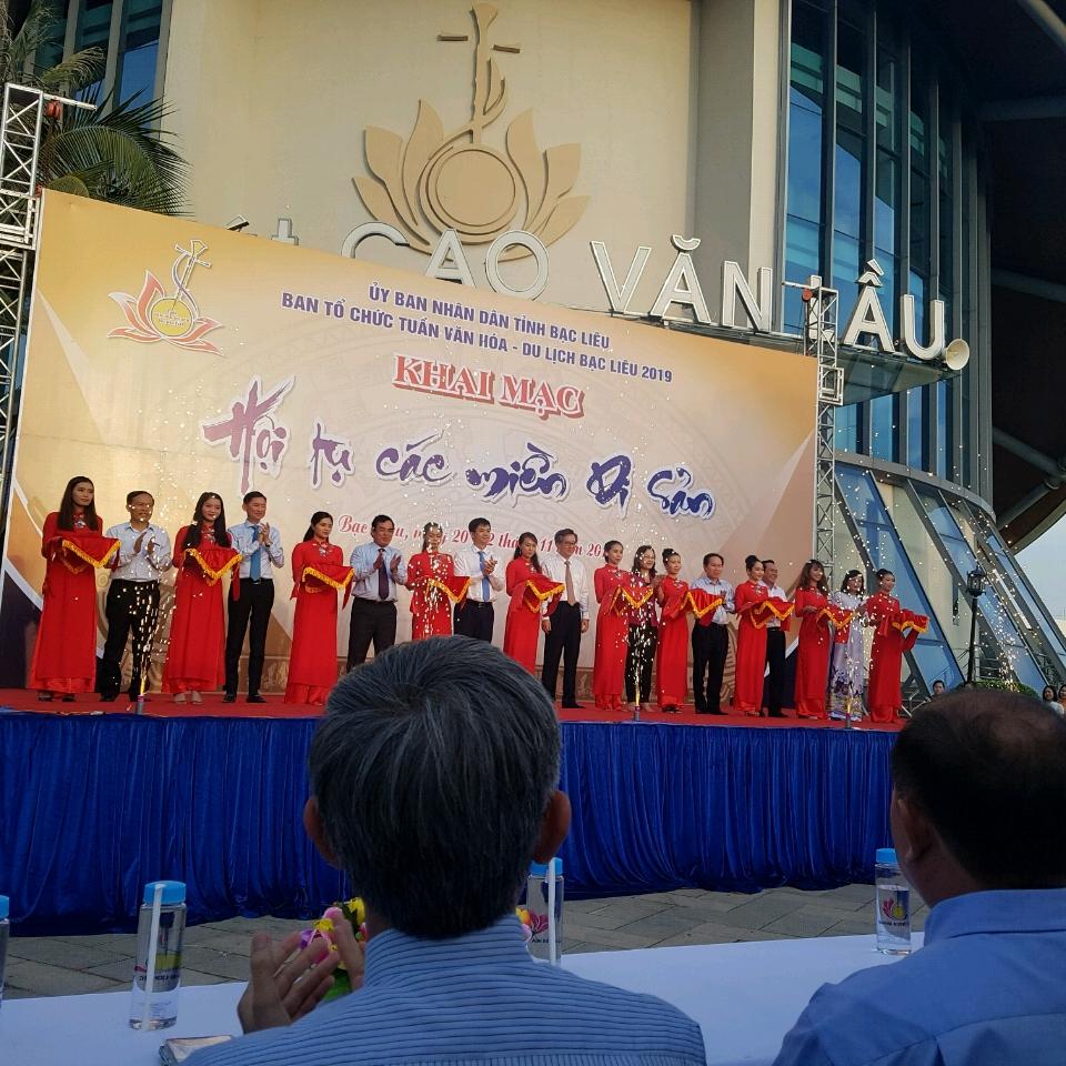 - Khai mạc Hội Tụ Các Miền Di Sản cả nước tại Bạc Liêu 2019.
