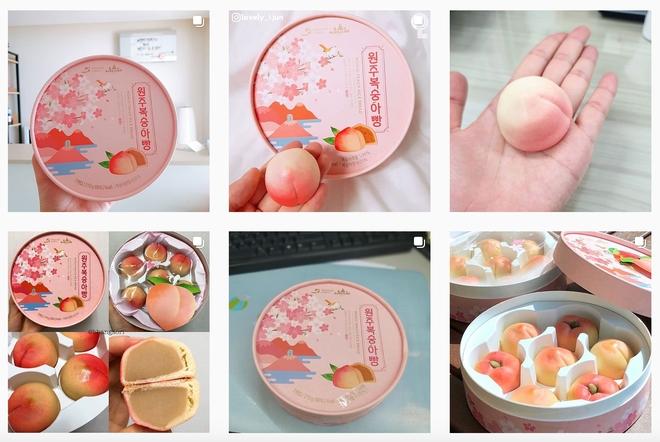 Hội bánh bèo xứ Hàn đang mê mẩn món bánh mì đào tươi xinh phủ sóng cả Instagram này
