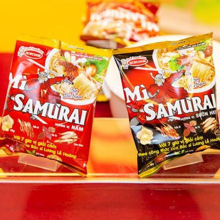 Mì Samurai - Món quà sức khỏe từ Acecook Việt Nam
