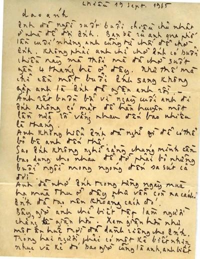 🌹Dao Ánh - nàng thơ mà Trịnh Công Sơn từng gửi 300 bức thư tình
