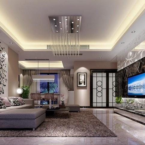 Đá tự nhiên trang trí phòng khách