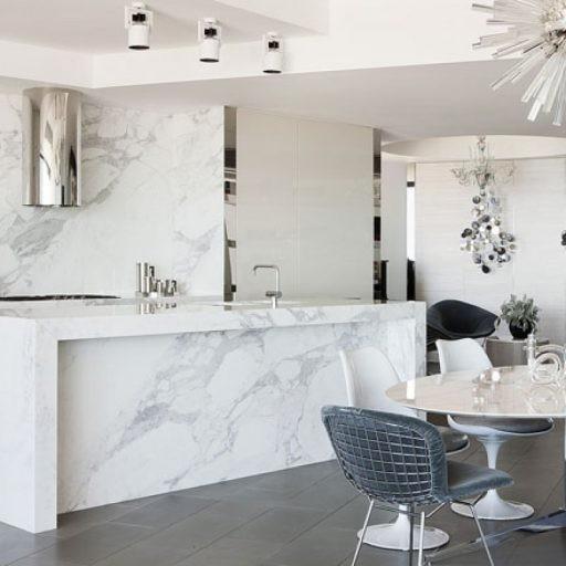 Đá tự nhiên trang trí phòng bếp