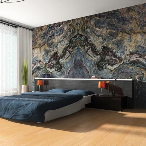 Đá tự nhiên trang trí phòng ngủ