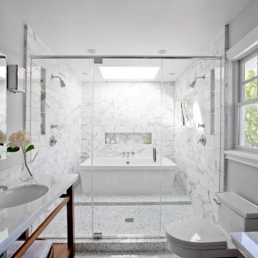 Đá tự nhiên trang trí phòng tắm