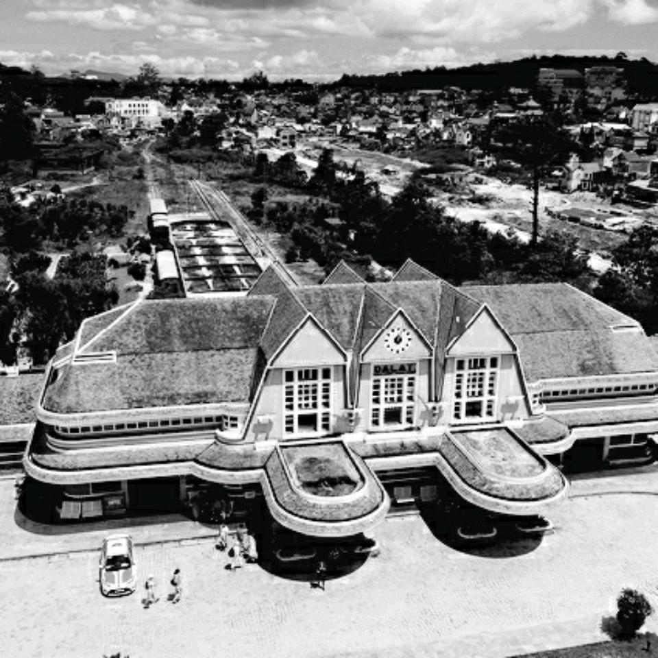 Hình ảnh nhà ga xe lửa Đà Lạt