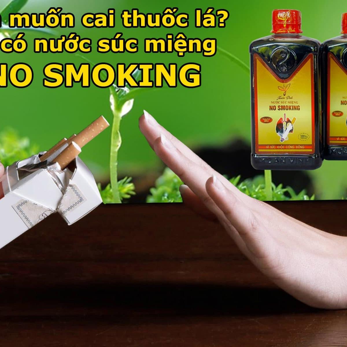 Cai Thuốc Lá No smoking - bạn đồng hành của bạn