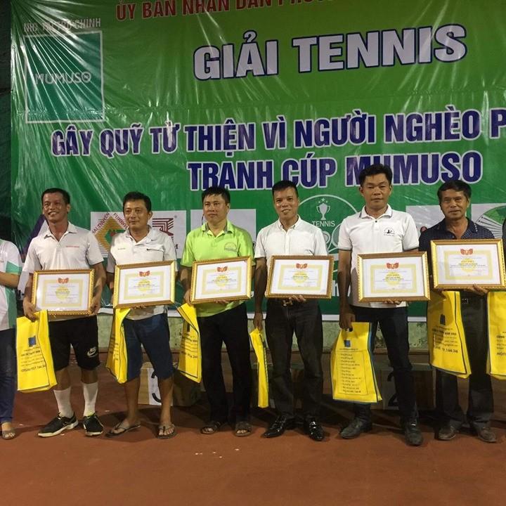 Giải tennis doanh nhân tranh cúp MUMUSO và gây quỹ từ thiện