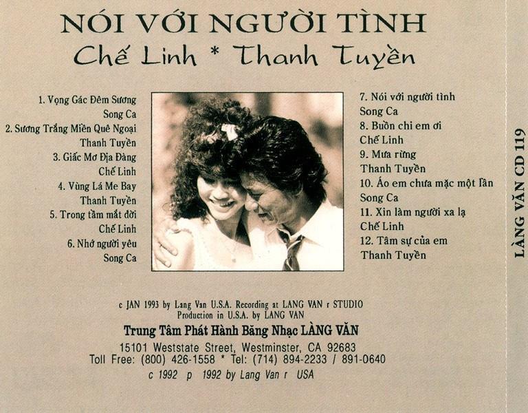Chiều mưa biên giới, ca sĩ Thanh Tuyền