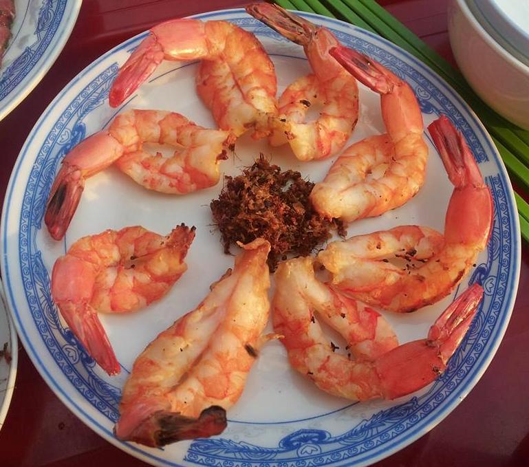 Tôm Một Nắng Muối Kiến Vàng - Đặc Sản Phú Yên