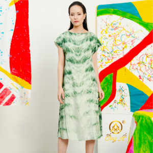 QUYÊN Mulberry Silk Dress
