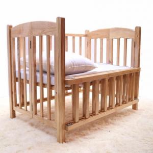Cũi giường gỗ Sồi GoldCat - Kích thước 80x120 (MSP: C61B)