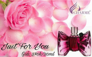 Nước hoa Nữ Charme Just For You 30ML