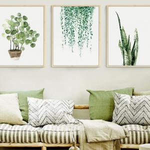 Tranh Treo Tường - Green Art-S1550 (Bộ 3 tấm)