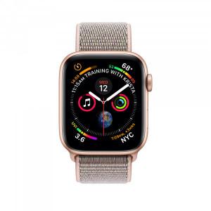 Apple Watch Series 4 GPS 40mm, Gold Aluminum - Pink Sand Sport Loop