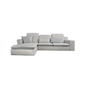 Sofa Cico Góc Phải Vải Xám Xanh