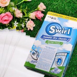 Giấy thơm quần áo Swirl - 45 tờ