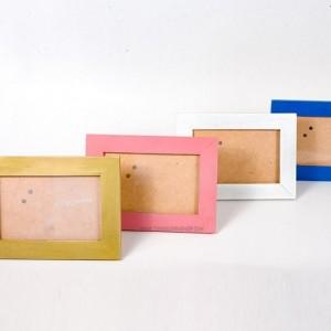 Khung ảnh để bàn 10x15 gỗ trơn các màu