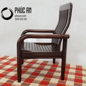 Salon - Sofa gỗ Muồng tay tròn