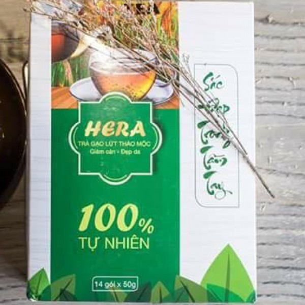 Tra gạo lứt giảm cân Hera