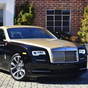 Xe Cưới Siêu Sang Rolls Royce Phantom