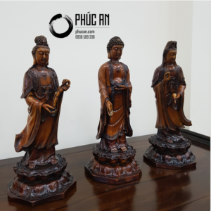 Tượng đá mỹ nghệ Phật Tây Phương Tam Thánh