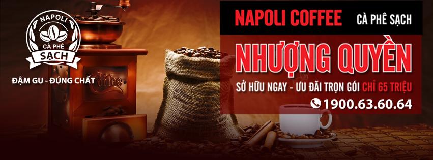 Napoli Coffee Nhượng quyền thương hiệu