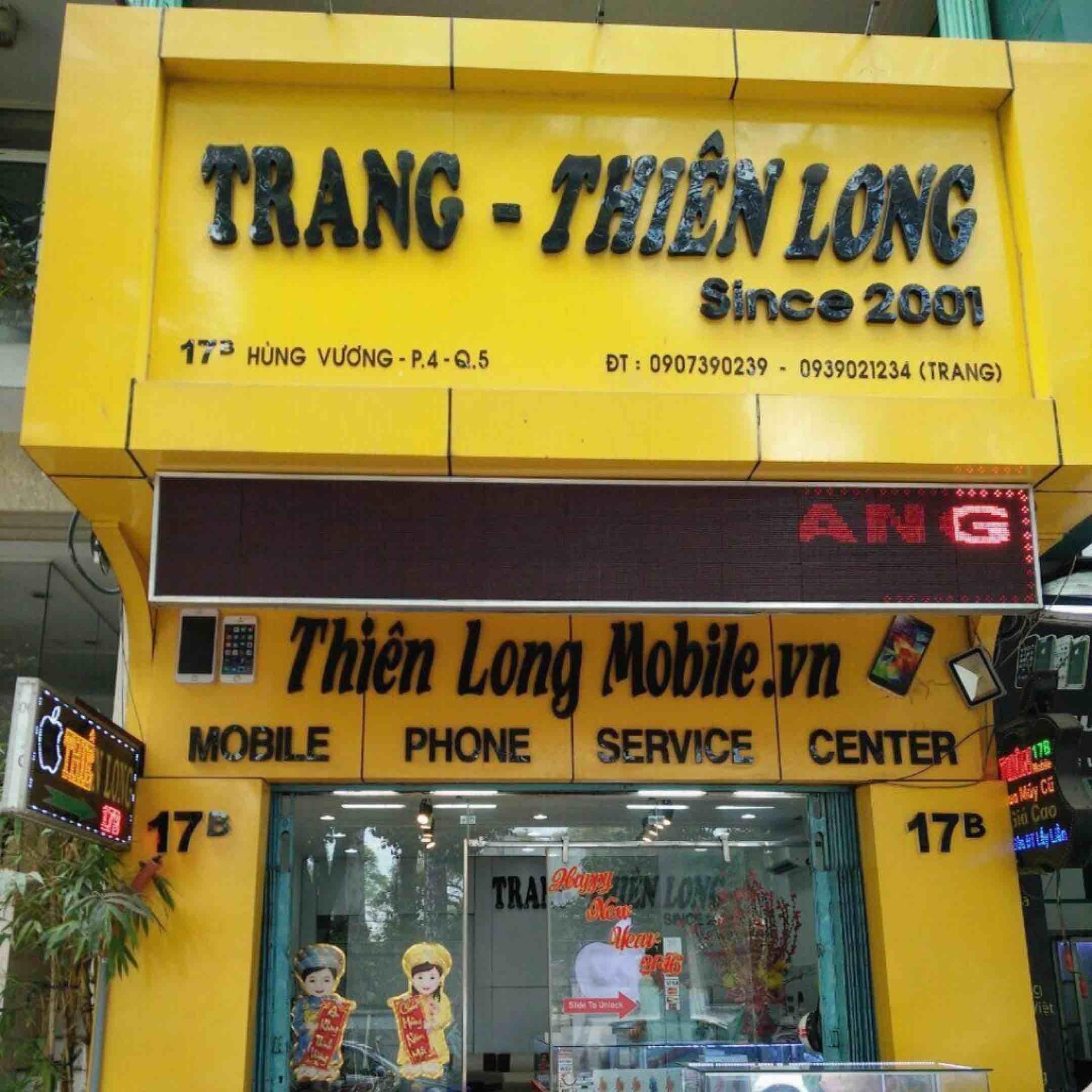 Điện Thoại Trang Thiên Long